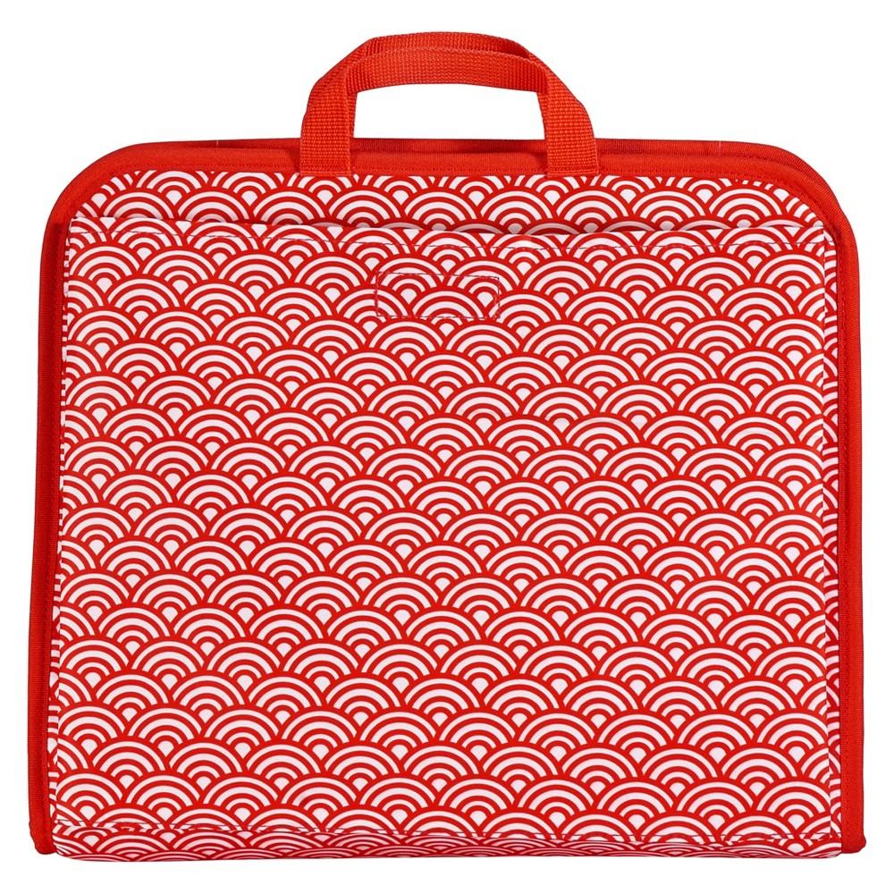 Diaper Dude Sabrina Soto Bag Organizer - Red, Grey