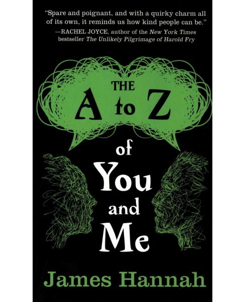 A to Z of You and Me (Large Print) (Hardcover) (James Hannah) - image 1 of 1