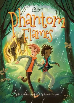 Phantom Flames (Library) (Rich Wallace)
