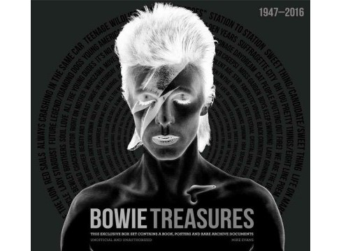 Bowie Treasures (Hardcover) (Mike Evans) - image 1 of 1