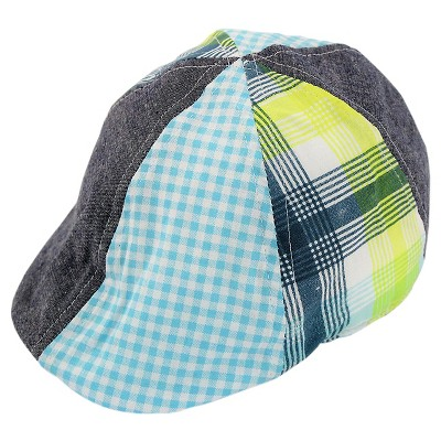 Baby Boys' Mixed Print Cabby Hat Cat & Jack™ - Blue 12-24 M