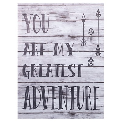 Trend Lab Canvas Wall Art - My Greatest Adventure- Wild Forever