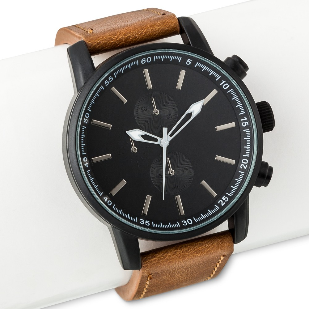Mens Strap Watch - Mossimo - Black