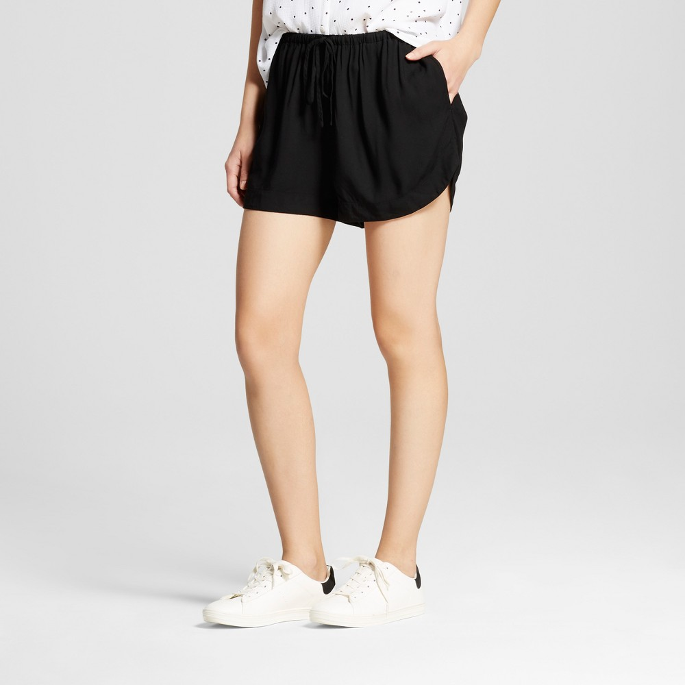 Womens Easy Casual Shorts - Mossimo Supply Co. Black XS