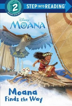 Moana Finds the Way (Deluxe) (Library) (Susan Amerikaner)