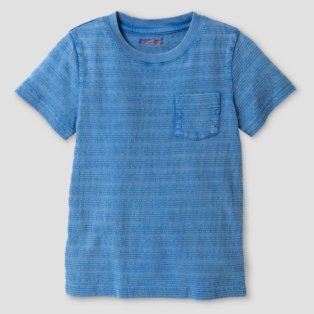 Toddler Boys' Button Down Shirt Cat & Jack Orange 5T, Blue
