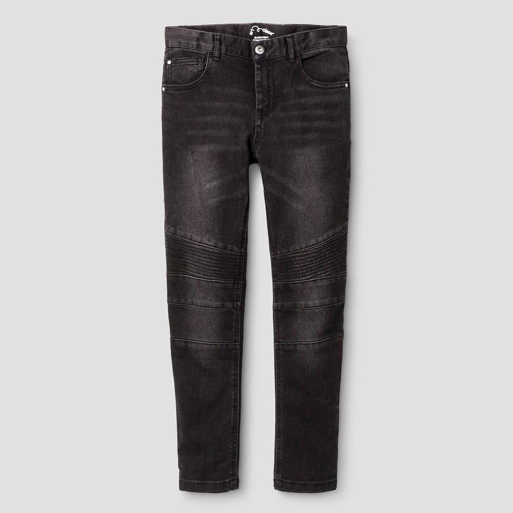 Boys' Jeans Art Class Ebony 8, Boy's, Black