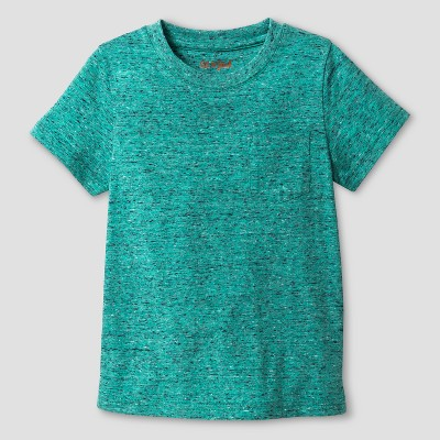 Baby Boys' T-Shirt - Cat & Jack™ Green Heather 18 M