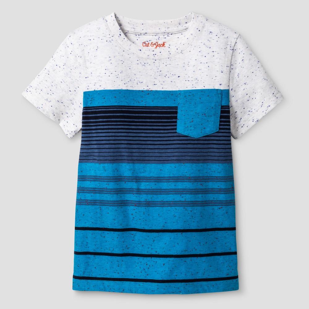 Baby Boys T-Shirt Cat & Jack Blue 12 M