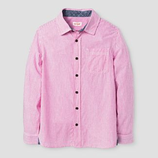 pink button down dress : Target