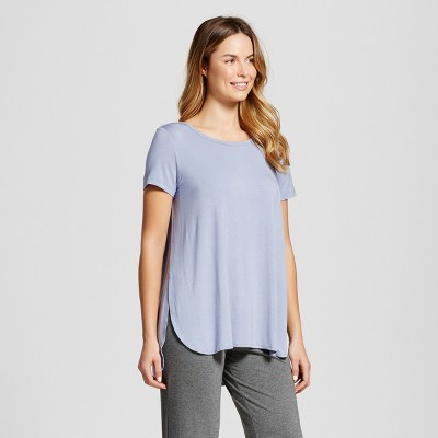 Maternity Nursing Sleep T-Shirt - Gilligan & O'Malley™ - Misty Blue L