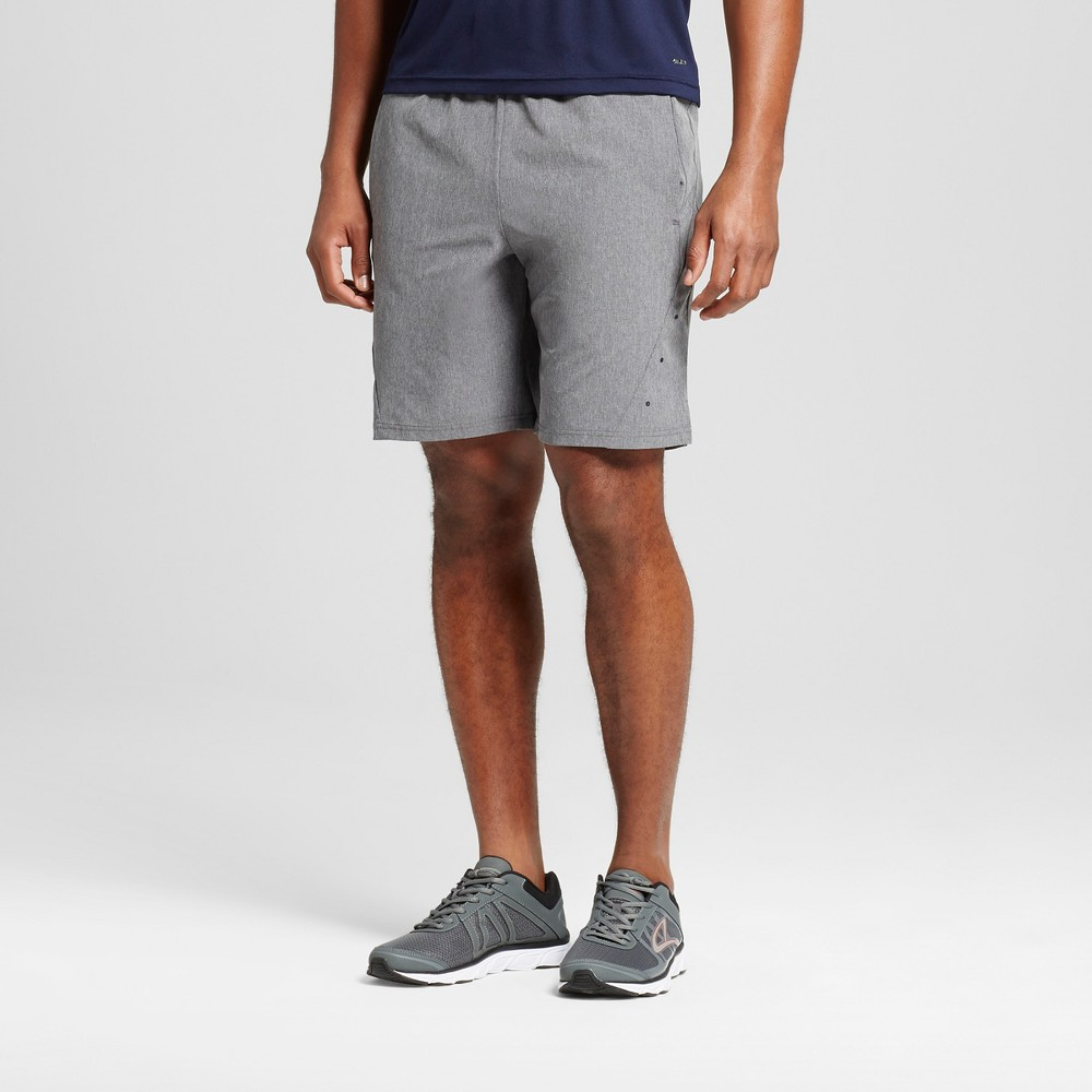 Mens Stretch Woven Shorts - C9 Champion - Thundering Gray Heather M