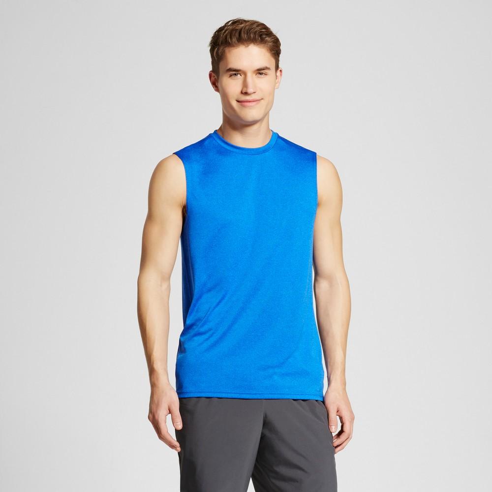 Mens Sleeveless Tech T-Shirt - C9 Champion - Flight Blue Heather Xxl