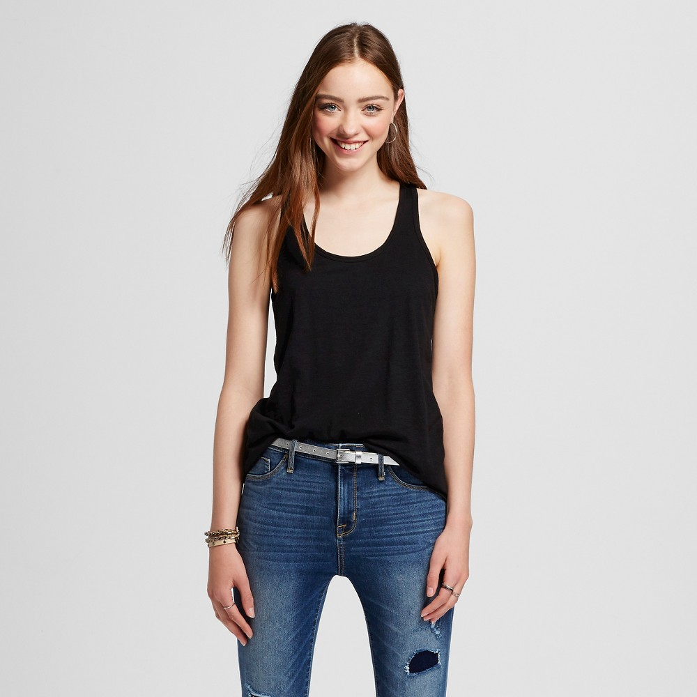 Women's Racerback Tank Top Black M - Mossimo Supply Co.
