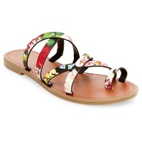 Women's Lina Slide Sandals Mossimo Supply Co.. opens in a new tab.