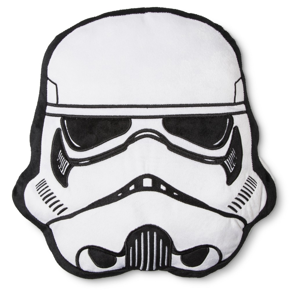 Stormtrooper Rogue One Pillow - Star Wars, White