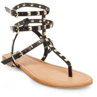 Women's Gertie Gladiator Sandals - Mossimo Black. opens in a new tab.