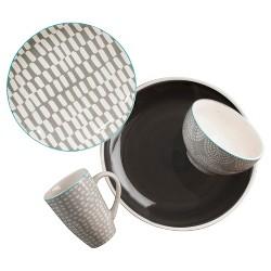 Euro Ceramica® Simpatico Earthenware 16pc Dinnerware Set