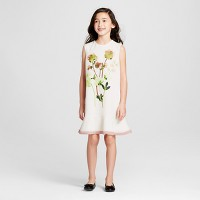 Girls' Pressed Floral Ruffle Hem Dress - Victoria Beckham for Target. opens in a new tab.