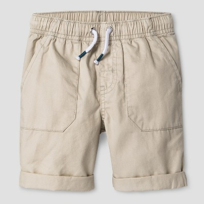 Baby Boys' Pull-On Shorts Cat & Jack™ Oyster 18M