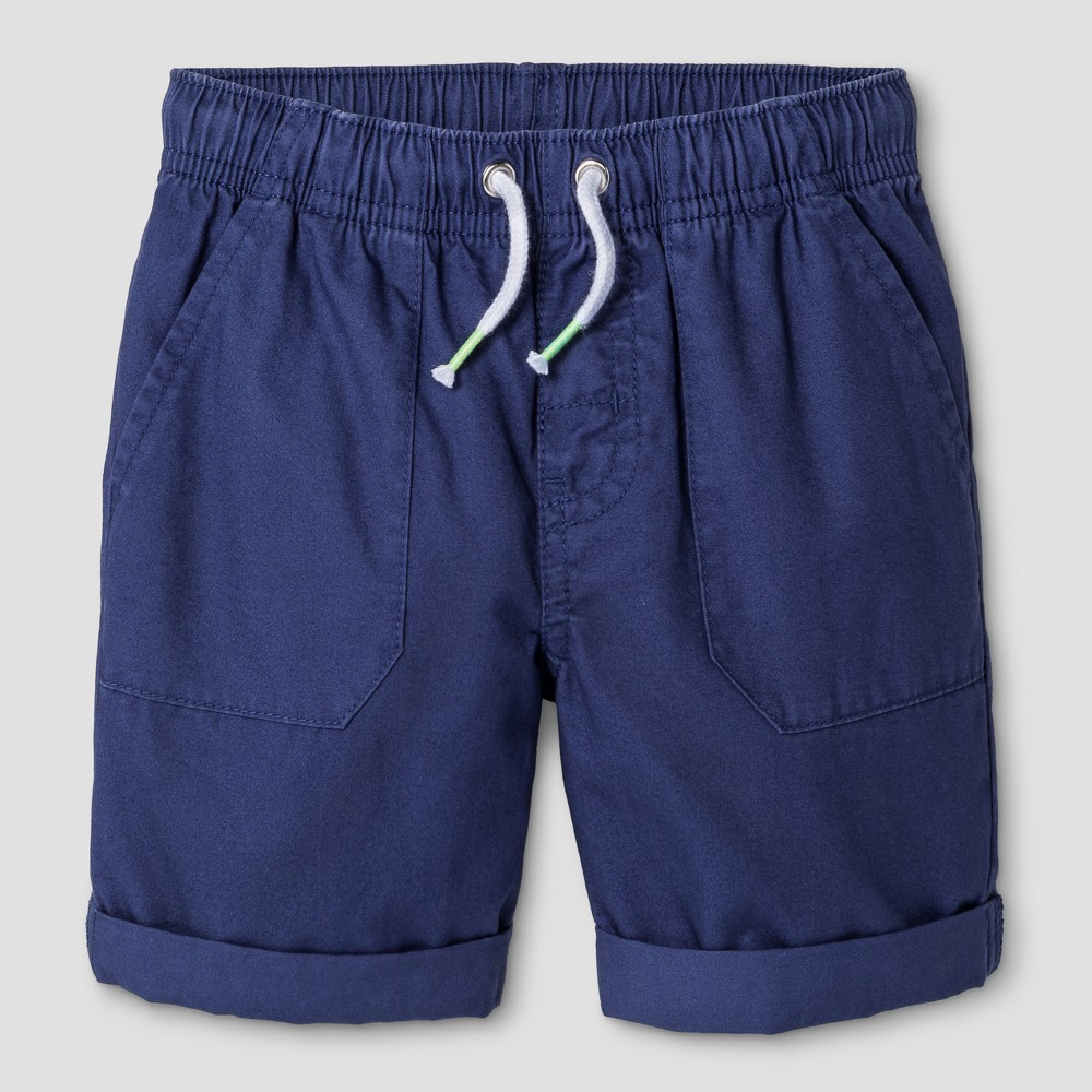 Baby Boys Pull-On Shorts Cat & Jack Wild Blue Yonder 12M, Size: 12 M