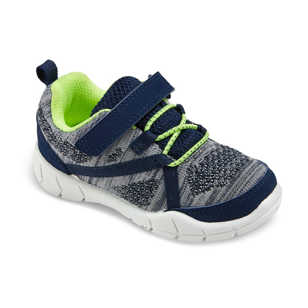 Toddler Boys Madison Sneakers - Just One You Made by Carters Navy (Blue) 5