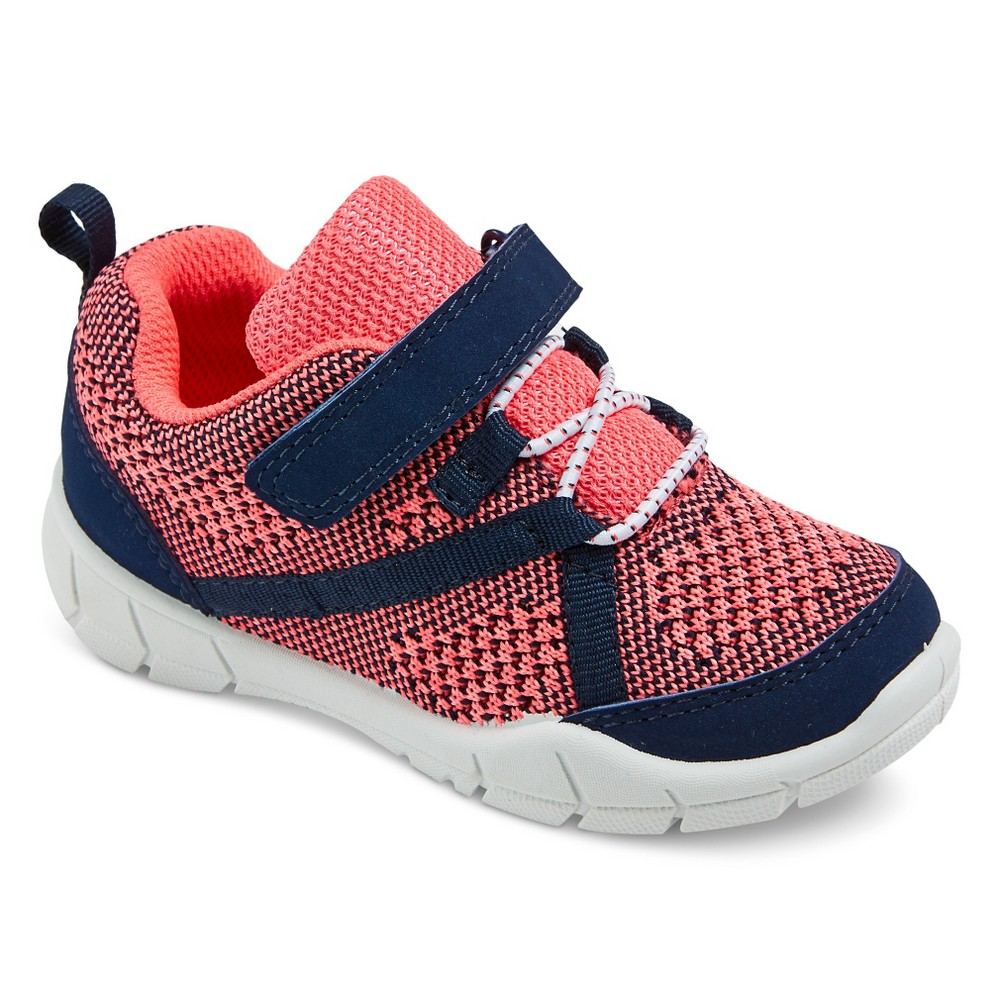 Toddler Girls Madison Knit Top Sneakers - Just One You Made by Carters Pink 5