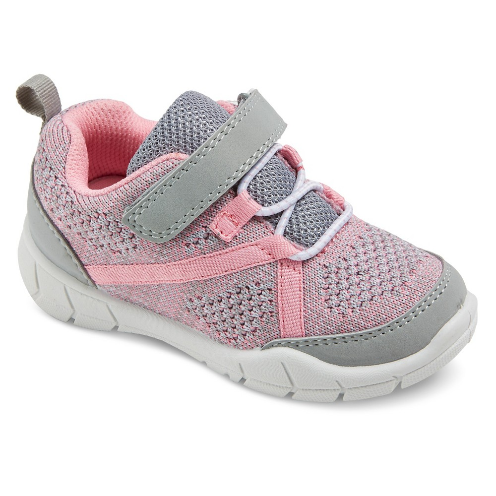 Toddler Girls Madison Knit Top Sneakers - Just One You Made by Carters Gray 7