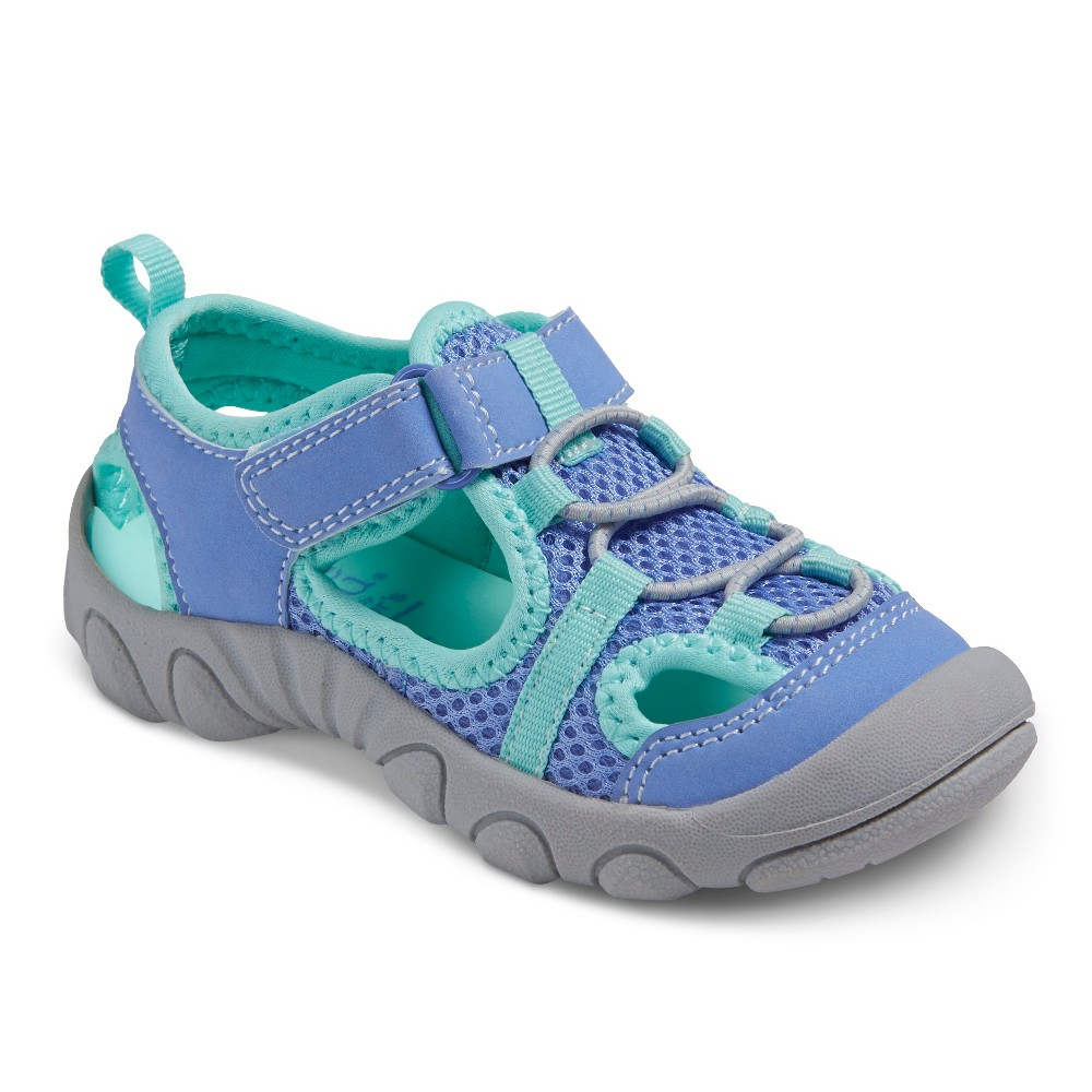 Toddler Girls Caden Footbed Sandals - Just One You Made by Carters Blue 11