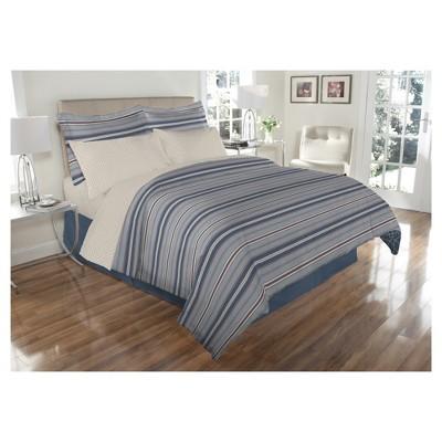 Venetian 8 Piece Bed In A Bag (Queen)Blue