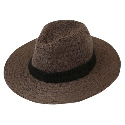 Do Everything In Love Weaved Panama Hat with Ribbon