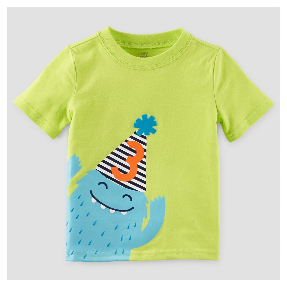 Toddler Boys T-Shirt - Just One You Made by Carters Lime 3T, Green