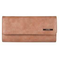 Kenneth Cole Reaction Women's Faux Leather Solid Elongated Clutch Wallet