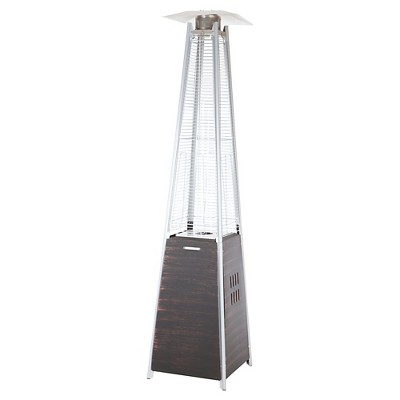 Coronado Pyramid Flame Patio Heater - Brown - Fire Sense