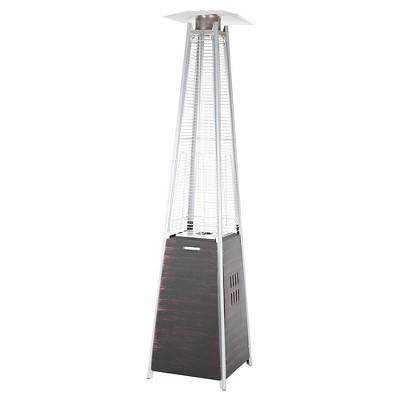 Coronado Pyramid Flame Patio Heater   Brown   Fire Sense