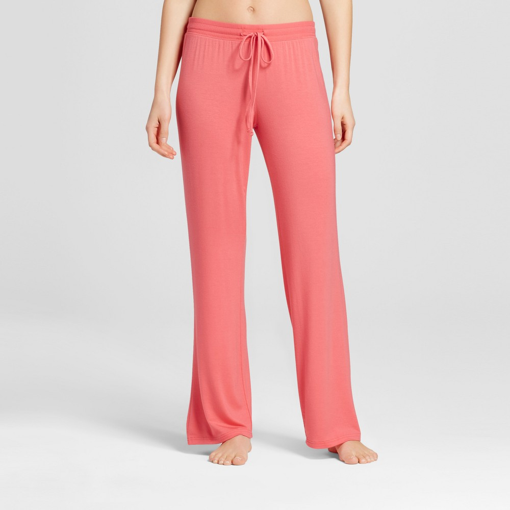 Womens Pajama Pants Fifties Pink XL