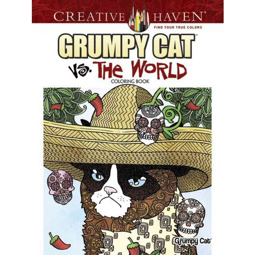 Grumpy Cat Vs The World Coloring Book Paperback