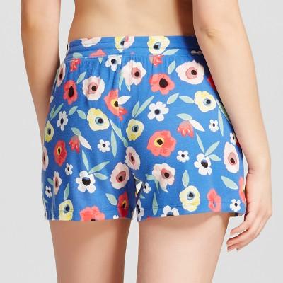 Women's Sleep Shorts - Blue Xxl