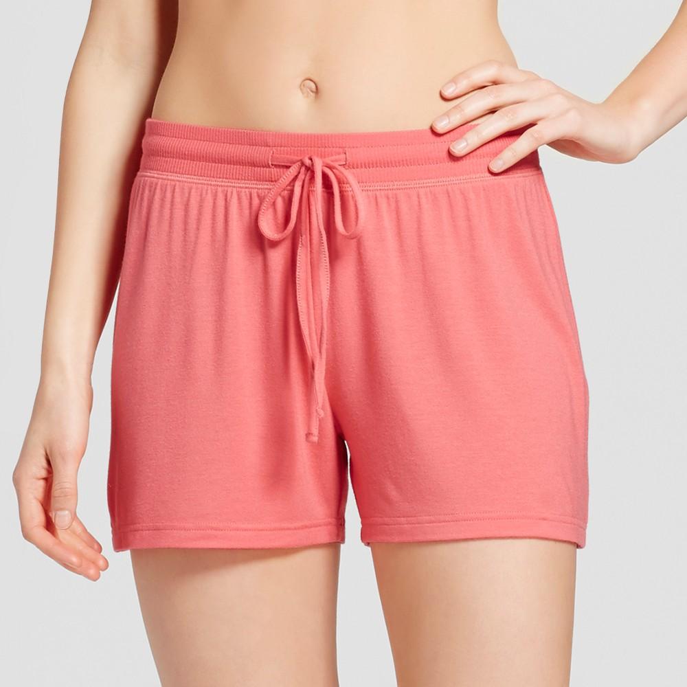 Womens Pajama Shorts Fifties Pink M