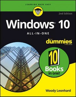 Windows 10 All-in-one for Dummies (Paperback) (Woody Leonhard)