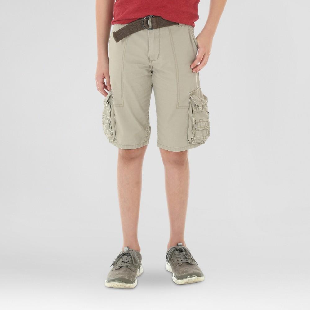 Wrangler Boys Cargo Shorts Khaki (Green) 12 Husky
