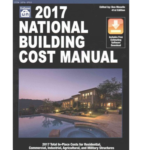 National Building Cost Manual 2017 (Paperback) - image 1 of 1