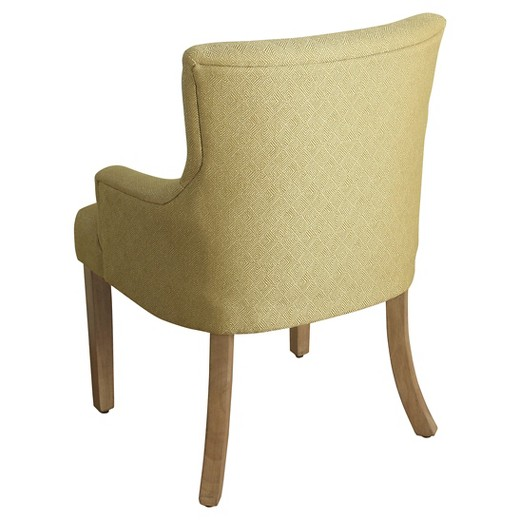 Logan Tufted Accent Chair With Arms Homepop Target