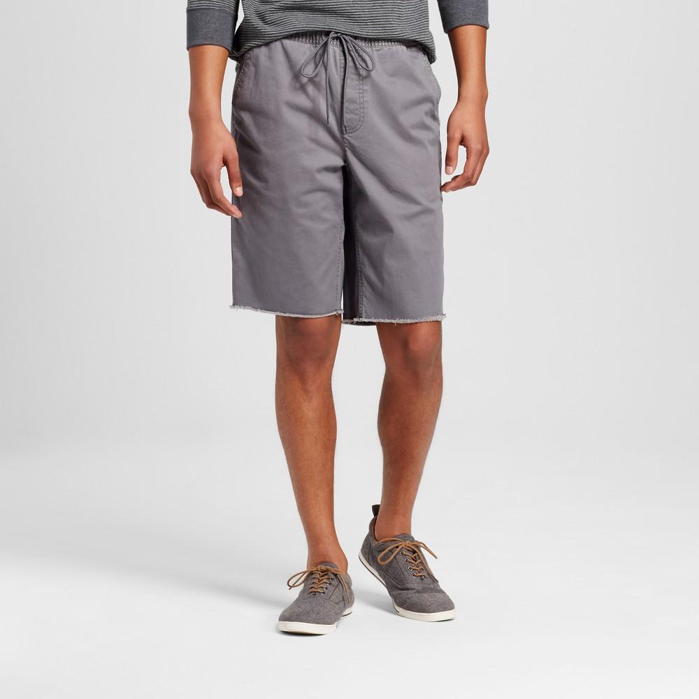 Mens Elastic Waist Jogger Shorts - Mossimo Supply Co. Gray XL