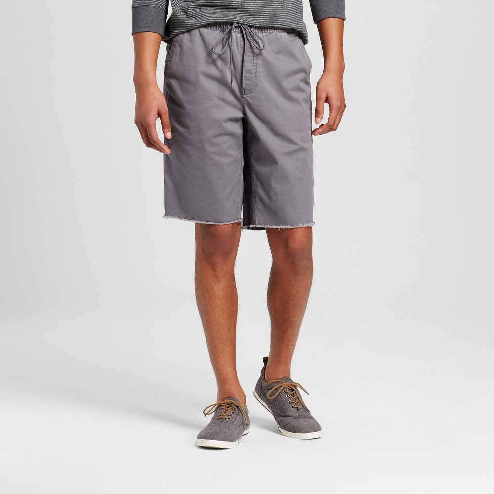 Mens Elastic Waist Jogger Shorts - Mossimo Supply Co. Gray M