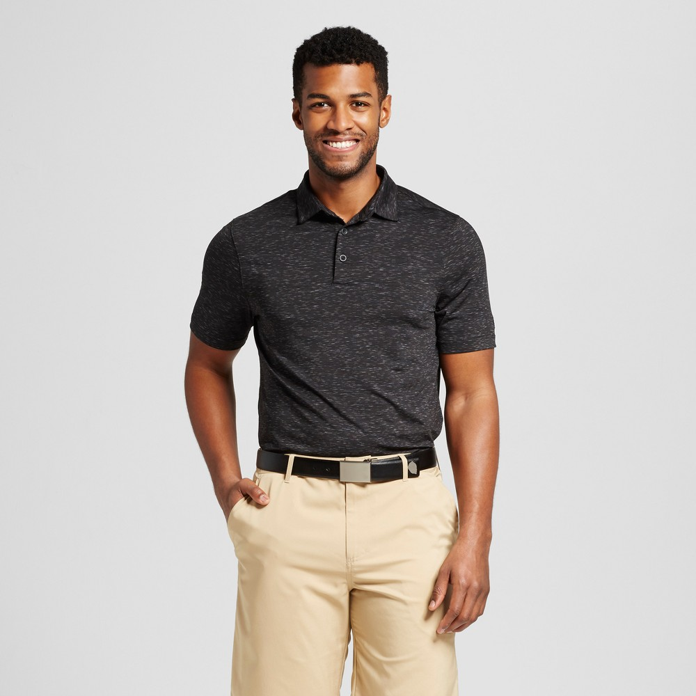 Mens Spacedye Golf Polo Shirt - C9 Champion Black S