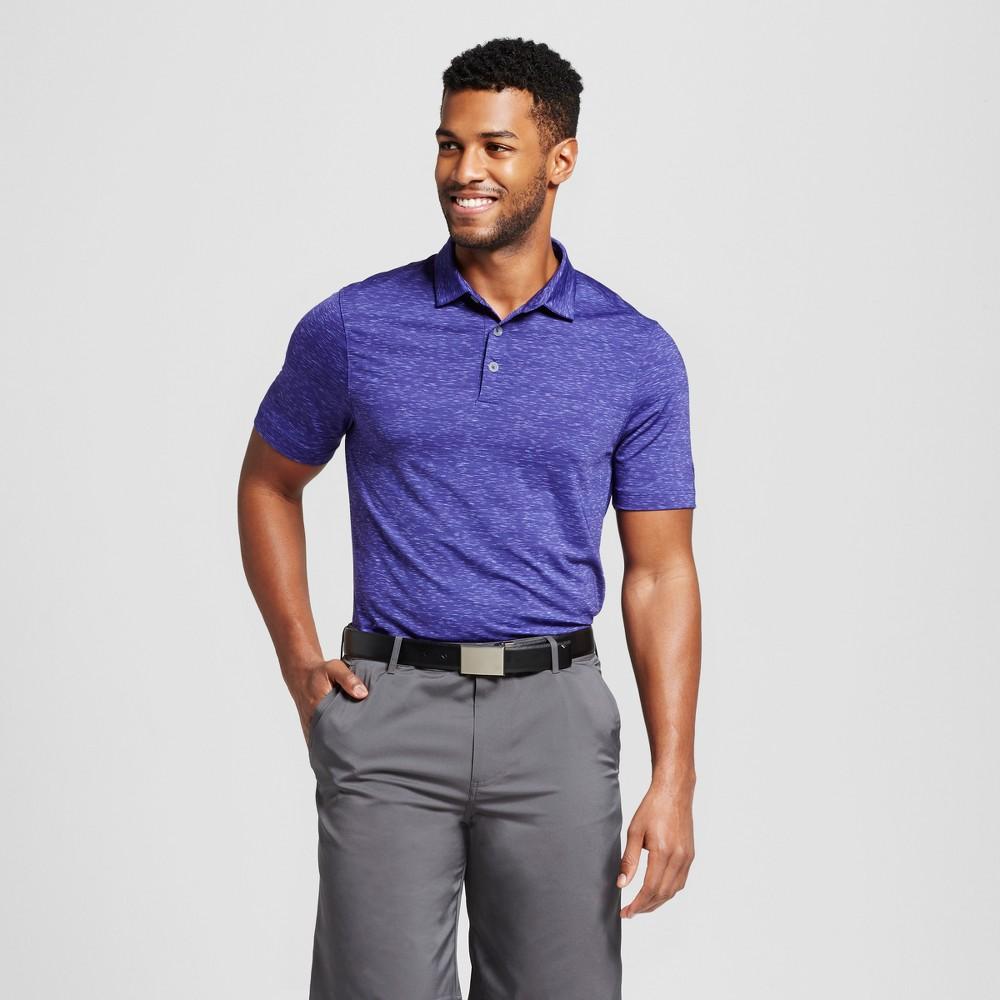 Mens Spacedye Golf Polo Shirt - C9 Champion Violet (Purple) S