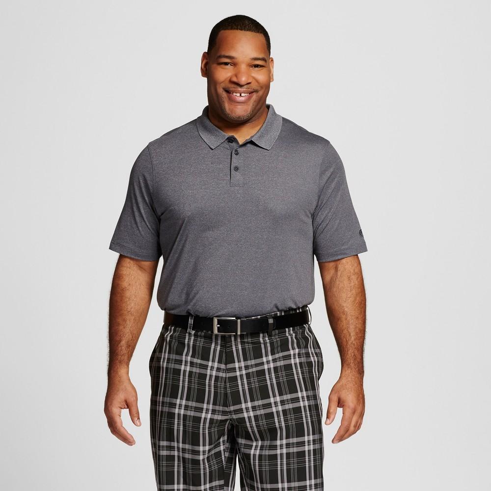 Mens Big & Tall Golf Polo - C9 Champion Charcoal (Grey) 5XB