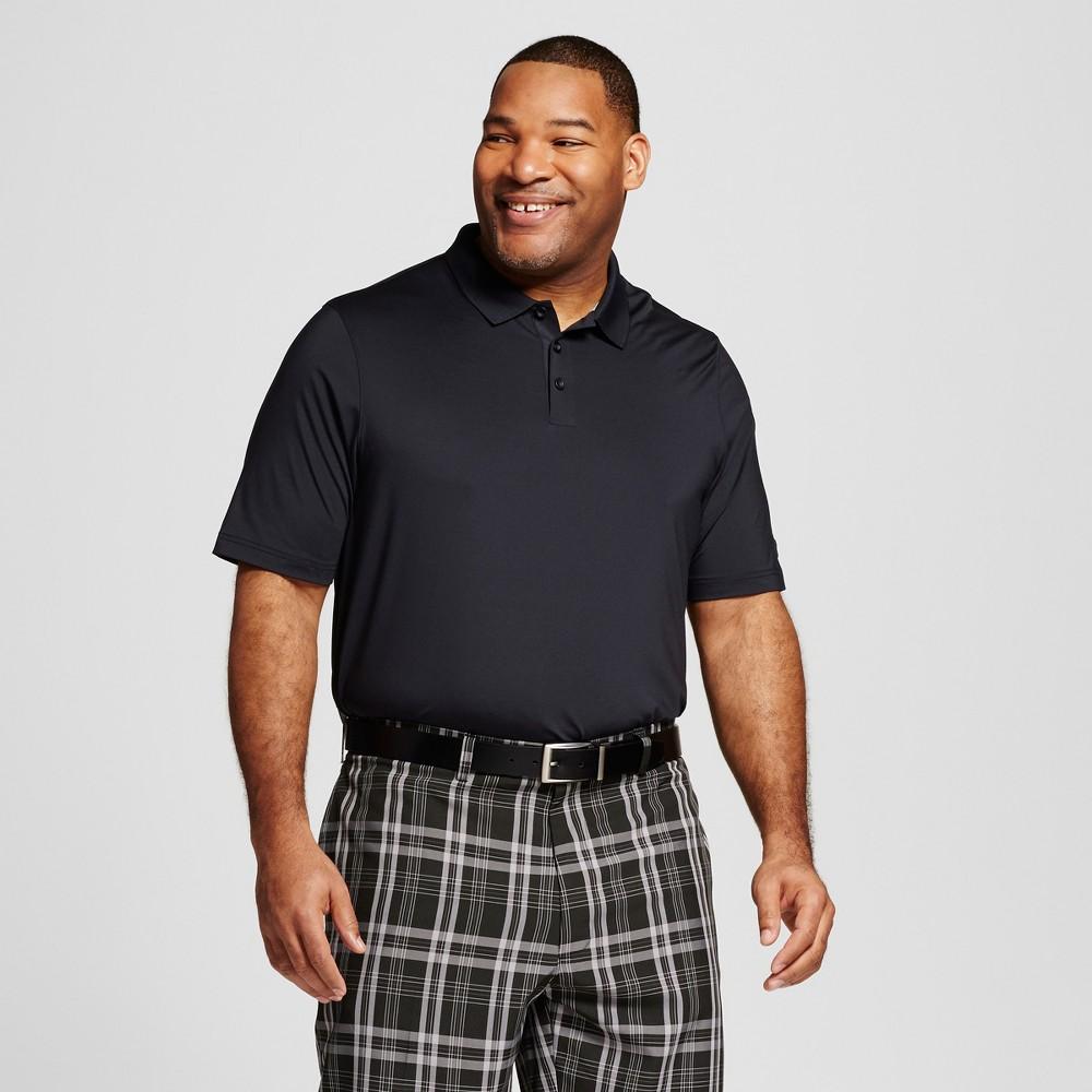Mens Tall Golf Polo - C9 Champion Black LT