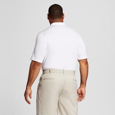 Men's Big & Tall Golf Polo True White 4XB - C9 Champion